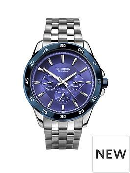 sekonda-sekonda-blue-multi-dial-stainless-steel-bracelet-mens-watch