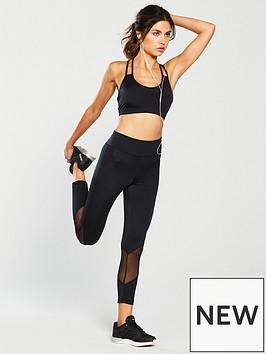 boux-avenue-plain-cropped-legging-black