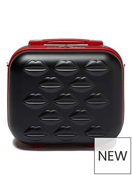 lulu-guinness-lips-hardside-vanity-case