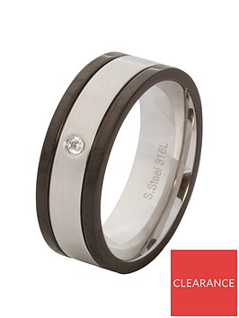stainless-steel-cubic-zirconia-amp-black-mens-ring