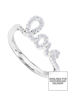 the-love-silver-collection-sterling-silver-cubic-zirconia-love-ring