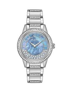 bulova-bulova-crystal-collection-blue-mother-of-pearl-and-turnstyle-crystal-set-dial-crystal-set-and-stainless-steel-bracelet-ladies-watch
