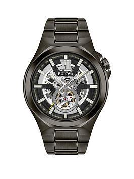 bulova-bulova-black-and-silver-detail-skeleton-dial-black-ip-stainless-steel-bracelet-mens-watch