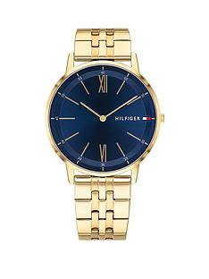 tommy-hilfiger-tommy-hilfiger-blue-dial-gold-stainless-steel-bracelet-mens-watch