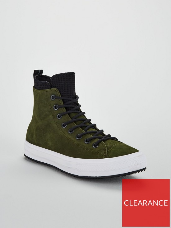 053095bb837 ... Converse Chuck Taylor All Star Utility Draft Boots - Khaki Black. View  larger