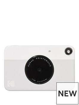 kodak-printomatic-instant-camera-zink-technology-grey-amp-20-sheets