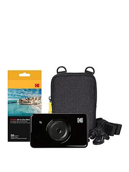 kodak-mini-shot-instant-10-megapixel-camera-with-optional-50-pack-of-paper-and-case
