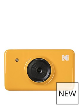 kodak-mini-shot-instant-camera-yellow-amp-50-pack-papers-amp-black-case
