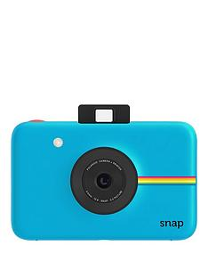 polaroid-snap-digital-cameranbspwith-20-pack-of-paper-and-optional-case-blue