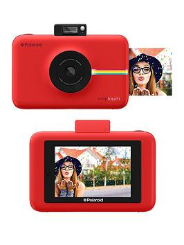 polaroid-snap-touchnbspdigital-camera-with-optional-50-pack-of-paper-and-neoprene-case-red