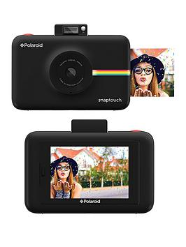 polaroid-snap-touchnbspdigital-camera-with-optional-50-pack-of-paper-and-neoprene-case-black