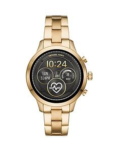 bf733f0220b8 MICHAEL KORS Michael Kors Gold Dial Gold Stainless Steel Bracelet Ladies  Smart Watch