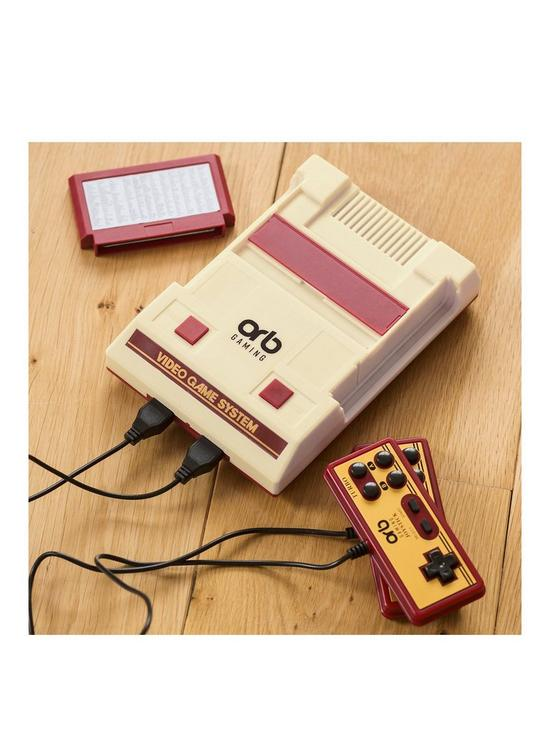 Retro Gaming Console 2 Player Plug & Play