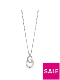 guess-guess-silver-crystal-set-logo-link-pendant-and-necklace