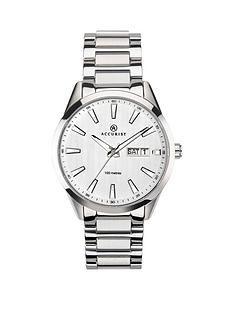 accurist-accurist-signature-collection-silver-dial-stainless-steel-bracelet-mens-watch