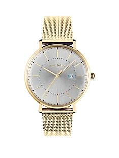 paul-smith-track-silver-and-gold-detail-dial-gold-stainless-steel-mesh-strap-watch