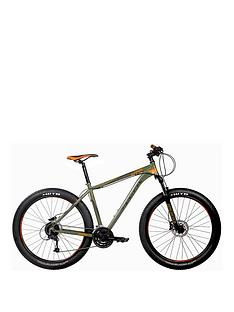 Indigo Unisex Grade Mountain Bike, Green, 17.5-Inch Best Price and Cheapest