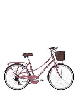 Kingston Kingston Primrose Ladies Heritage Bike 16 inch Frame, Rose Gold, Women