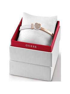 guess-white-leather-and-rose-gold-crystal-set-heart-bangle