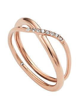 fossil-classics-rose-gold-glitz-ring