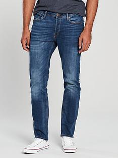951a8c7756de Jack   Jones Slim Fit Tim Jeans - Mid Blue