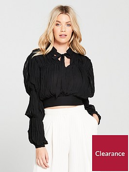 river-island-puff-sleeve-top-black