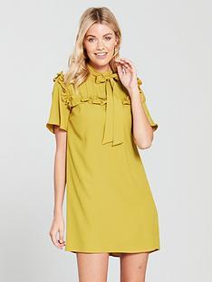 river-island-swing-dress-yellow