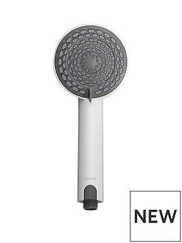 aqualisa-105mm-electric-harmony-head-dark-greywhite-5-spray-mode