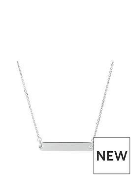 links-of-london-links-of-london-narrative-sterling-silver-bar-pendant-necklace