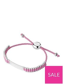 links-of-london-childrens-sterling-silver-amp-pink-cord-friendship-id-bracelet