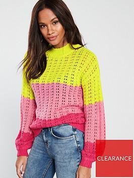 v-by-very-pointelle-stitch-jumper-stripe