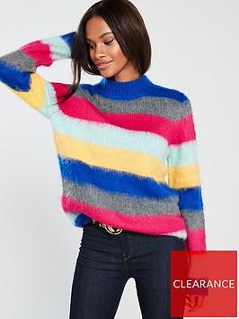 v-by-very-brushed-stripe-jumper-stripe