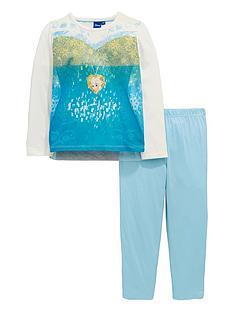 disney-frozen-girls-elsa-cape-pyjamas-multi-coloured