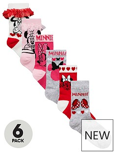 minnie-mouse-6-pack-minnie-mouse-socks
