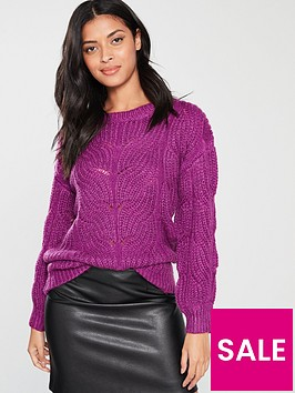 v-by-very-stitch-jumper-purple