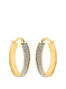 love-gold-9ct-gold-diamond-cut-sparkle-hoop-earrings