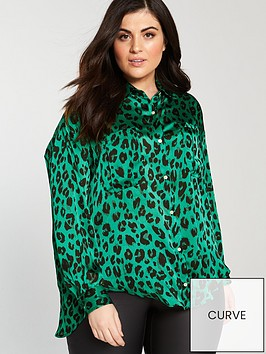 v-by-very-curve-longlinenbspprinted-blouse-print