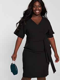 v-by-very-curve-kimono-sleeve-pencil-dress-black
