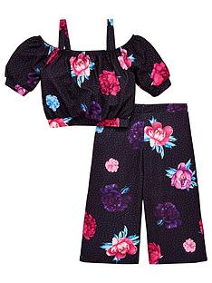 v-by-very-girls-floral-amp-spot-culotte-co-ord-outfit