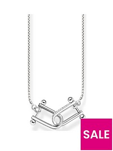 thomas-sabo-sterling-silver-interlocked-necklace