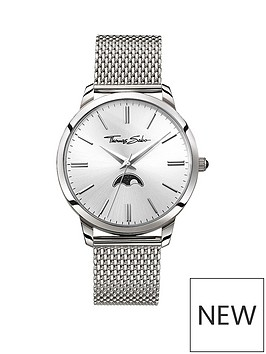 thomas-sabo-thomas-sabo-rebel-at-heart-silver-moonphase-dial-stainless-steel-mesh-strap-mens-watch