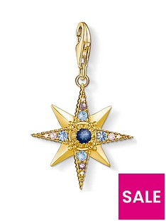 thomas-sabo-charm-club-gold-plated-gem-star-charm
