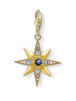 thomas-sabo-thomas-sabo-charm-club-gold-plated-gem-star-charm