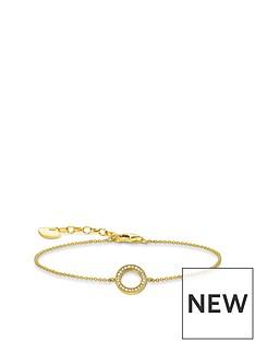 thomas-sabo-thomas-sabo-gold-plated-round-cubic-zirconia-bracelet