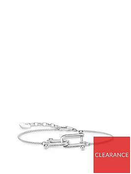 thomas-sabo-sterling-silver-interlocked-bracelet