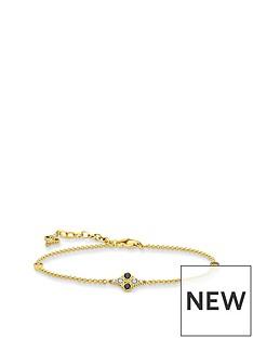 thomas-sabo-thomas-sabo-gold-plated-cubic-zirconia-bracelet
