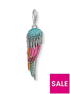 thomas-sabo-thomas-sabo-sterling-silver-multicoloured-enamel-wing-charm
