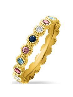 thomas-sabo-gold-plated-gem-ring