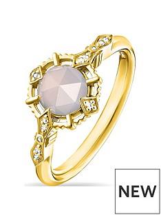 thomas-sabo-thomas-sabo-gold-plated-gemstone-solitaire-ring