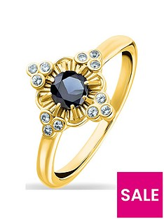 thomas-sabo-gold-plated-gemstone-ring